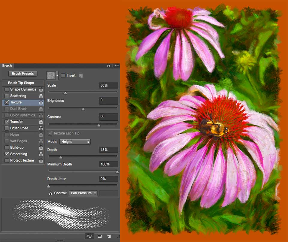 Out Johns Videos About These On Lynda So If You Have Yet To Try The Mixer Brush Tool In Photoshop CC 2015 Are For A Pleasant Surprise