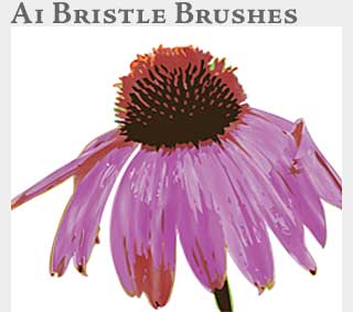 M2 Online Learning Adobe Illustrator Bristle Brushes