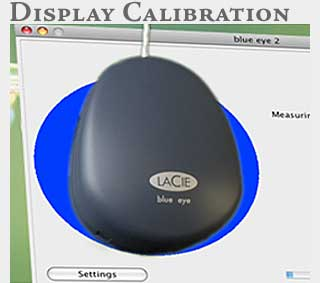 M2 Online Learning LaCie Display Calibration