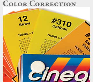M2 Media Online Learning Rosco Color Correction Media