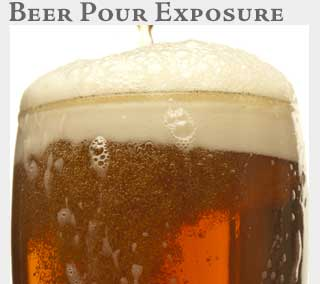 M2 Media Online Learning Beer Pour Exposure